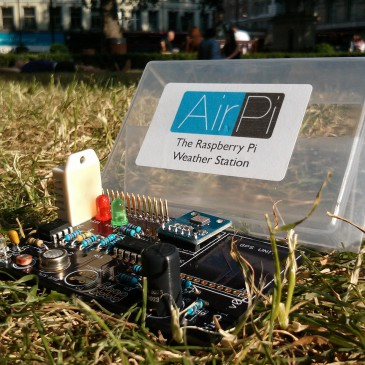 AirPi – measuring air quality